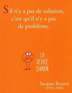 """S'il n'y a pas de solution…"